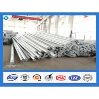 Quality Philippines Nea Standard Q345 40FT Hot Dip Galvanized Power Line Steel Pole for sale