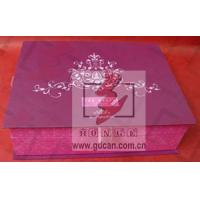 Decorative cardboard storage boxes with lids luxury candle boxes