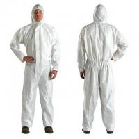 Quality customized size Disposable Isolation Gown / Coverall Protective Clothing for sale