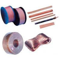 Quality 5 X 10mm 322 OFC Transparent oxygen free speaker wire Copper CCA for sale