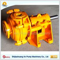 Quality iron ore processing project slurry pumps for sale