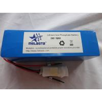 Quality Melasta Lithium Iron Phosphate Battery 24V 10ah for sale