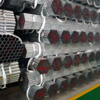 Quality Round Hot Dip Galvanized Steel Pipe Seamless Type High Precision For Boiler for sale