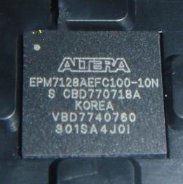 Quality Professional Logic IC Chips EPM7128AEFC100-10N 128MC 10NS 100FBGA for sale