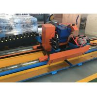 Quality Tengtian factory hot sale h.f pipe welding production line automatic steel pipe cold cutting machine for sale