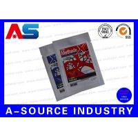 Quality Pharmaceutical Oral Aluminum Foil Ziplock Bags With Custom Labeling Packaging for sale