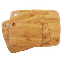 China bamboo bread board with a square grooves on sale
