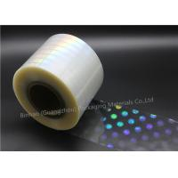 Quality Decorative Packaging BOPP Holographic Film Multiple Extrusion Thermal Lamination for sale