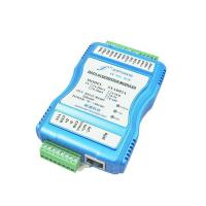 Quality 4-20mA/0-20mA/0-5V/0-10V Analog Signal to RJ45 Ethernet Digital Signal Converter for sale