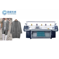 Quality Jersey Acrylic Three System 9G Automatic Flat Knitting Machine Computerized for sale