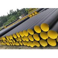 Quality hdpe double wall corrugated pipe prices double wall corrugated hdpe pipe load ratings for sale