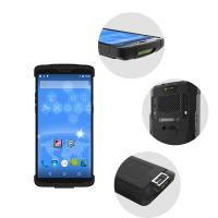 Buy cheap 2.4G 5G WIFI Android Handheld Barcode Scanner RFID Reader Wireless Meter Reading from wholesalers