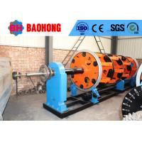 Quality Steel Wire Cable Planetary Stranding Machine 400/24+24 Stable Structure for sale