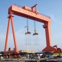 Quality Rtg Container Gantry Crane Portable Rubber Tyre Double Girder Crane 30.5-60T for sale