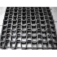 Baking Flat Stainless Steel Mesh Belt Corrosion Resistance High Load