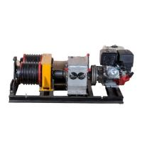 Buy cheap 5 Ton Double Capstan Cable Winch Puller With Honda GX390 Engine 13HP from wholesalers