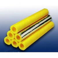 Glass wool pipe insulation material