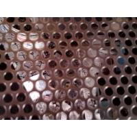 Quality Stainless steel perforated metal mesh /perforated sheet for test sieve for sale