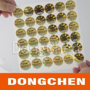 2013 cheap custom hologram stickers