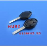 Quality 3 Buttons 2 Track Rechargeable Remote Key (433mhz) for BMW for sale