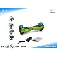 China Two wheel balance electric scooter For Bluetooth  LED light  , 8 smart balance wheel on sale