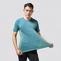 Buy cheap T-shirt ,High Quality shirt, Casual Seamless Yoga shirt,Solid Stretch Skinny T from wholesalers