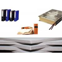 Quality Solid Laminated Grey Board Paper for arch file / hard book cover / boxes for sale
