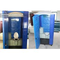 Quality Seat Type Rotomoulded Portable Plastic Toilet , Movable Bathroom Modular Containers for sale