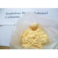 Quality Trenbolone Hexahydrobenzyl Carbonate / Parabolan Yellow Raw Steroid Powder For Bodybuilding for sale