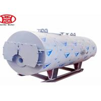 China Oil Gas Fuel Steam Heat Boiler , Fire Tube Steam Boiler For Industrial pringting dyeing mill on sale