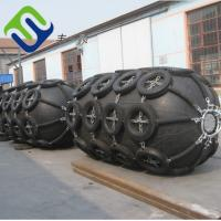Buy cheap ISO17357 Pneumatic rubber fender Docking Bumper from wholesalers