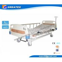 Quality Luxurious Detatchable foldable hospital bed for disabled , Electric medical beds for home for sale