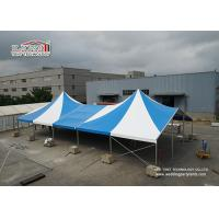 Quality Customize Temporary High Peak Marquees / Shade Canopy Tent 5M Distance for sale