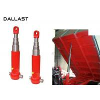 Buy cheap Agricultural Dump Trailer Hydraulic Cylinder Multi Stage TS16949 Certification from wholesalers
