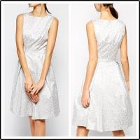 Quality Girls fahsion sleevelessjaquard casual Dress, party/prom dress for sale