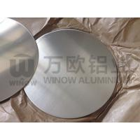 Quality Smooth Edge Round Aluminum Blanks / Aluminium Discs Circles For Cookwares / Lights for sale