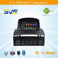 Quality Android car dvd player GPS navigation for Renault Megane 2 II with A9 chipset quad core for sale