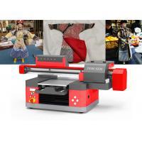 Quality Low Noise UV Digital Printing Machine UV Flatbed Inkjet Printer With 3D Effect for sale