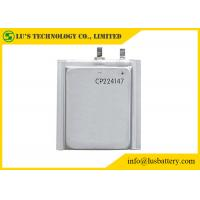 Quality Limno2 Primary Ultra Thin Battery For Radio Alarm Equipment / Sensors CP224147 for sale