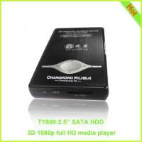 """Quality TY809: 1080P 2.5"""" SATA HDD Media Player RM MKV 3D Player for sale"""