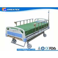 Quality GT-BM1102 4-Crank Adjustable  Manual Hospital Bed Golden Supply from China for sale