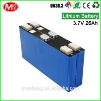 Buy cheap China customized 24V rechargeable battery Li-ion with BMS for energy storage from wholesalers