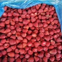 Quality BRC Certified IQF Frozen Food Fruits 100% IQF Strawberry No Added Sugar for sale