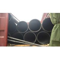 Quality DN350 ISO4427 PE100 PE 80 hdpe pipe for water supply, drainage, sand dredging for sale