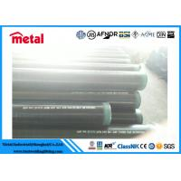 """Quality 12"""" SCH 40 Seamless Coated Steel Pipe API 5L X52 PSL1 External DIN 30678 for sale"""