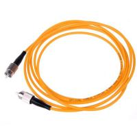 Quality Fiber Optic Patch Cord FC To FC Multimode Simplex for sale