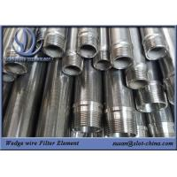 Buy cheap Wedge Wire Filter Element Of Automatic Back Flush Tube Filter In Vacuum Gas Oil from wholesalers