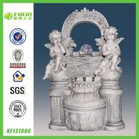 Quality Resin Angel Water Fountain Indoor for sale