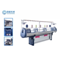 Quality Double Carriage Jacquard 16G Collar Knitting Machine T Shirt Single System for sale