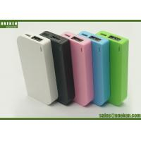 Quality Gift Lithium Polymer 2000mAh Battery Mobile Portable Power Bank 11 * 40 * 80mm for sale